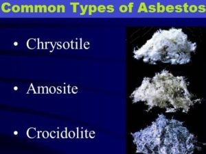 Asbestos is a hazardous material