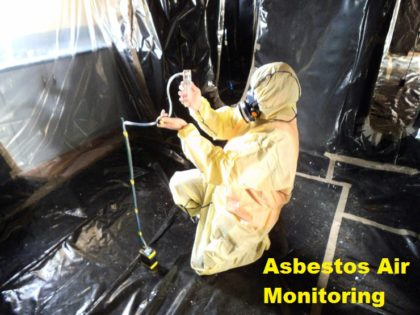 The Importance of Asbestos Air Monitoring